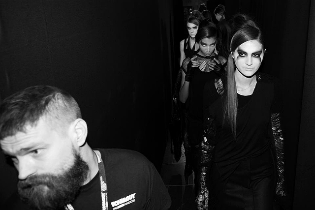 Barbara I Gongini backstage 13 - All Lambs