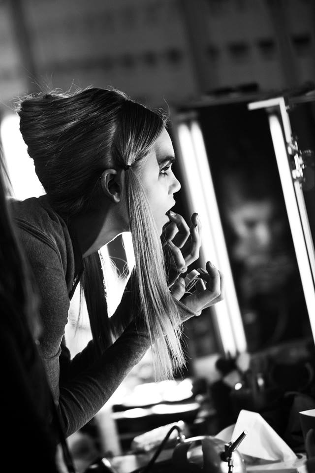 Barbara I Gongini backstage 14 - All Lambs