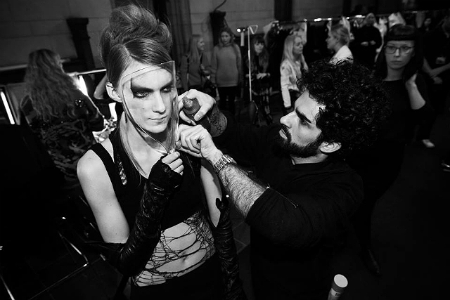 Barbara I Gongini backstage 15 - All Lambs