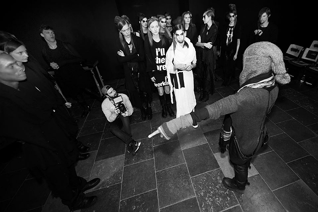 Barbara I Gongini backstage 16 - All Lambs