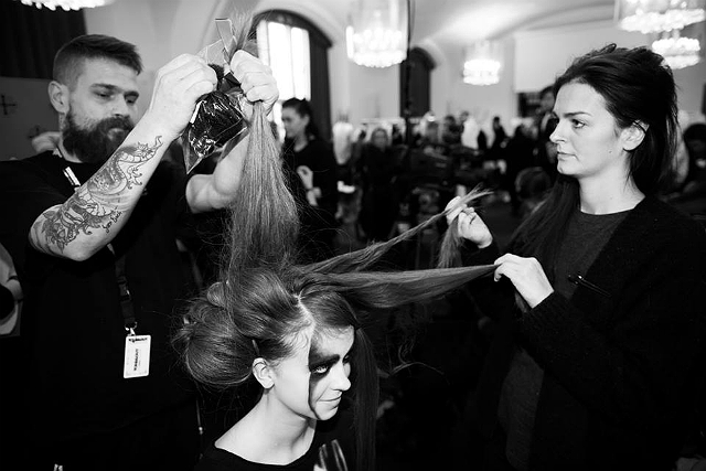 Barbara I Gongini backstage 6 - All Lambs