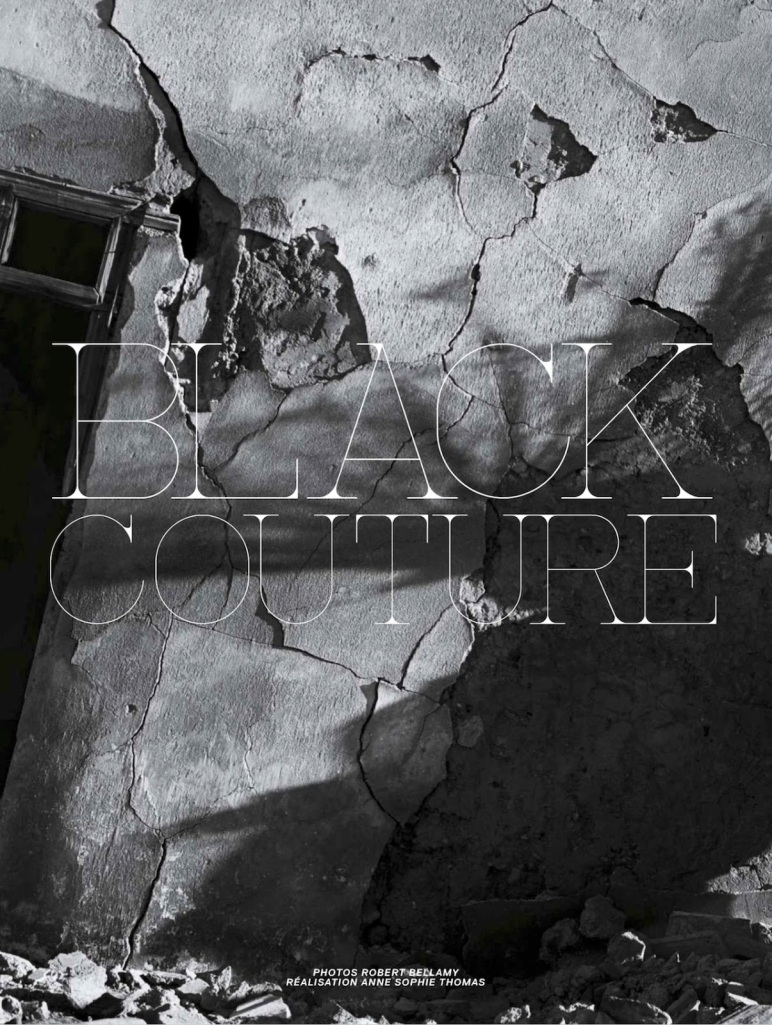Black Couture Jalouse Magazine 1 - All Lambs