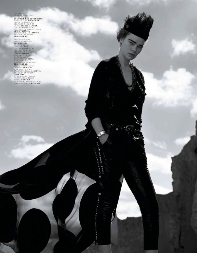 Black Couture Jalouse Magazine 6 - All Lambs