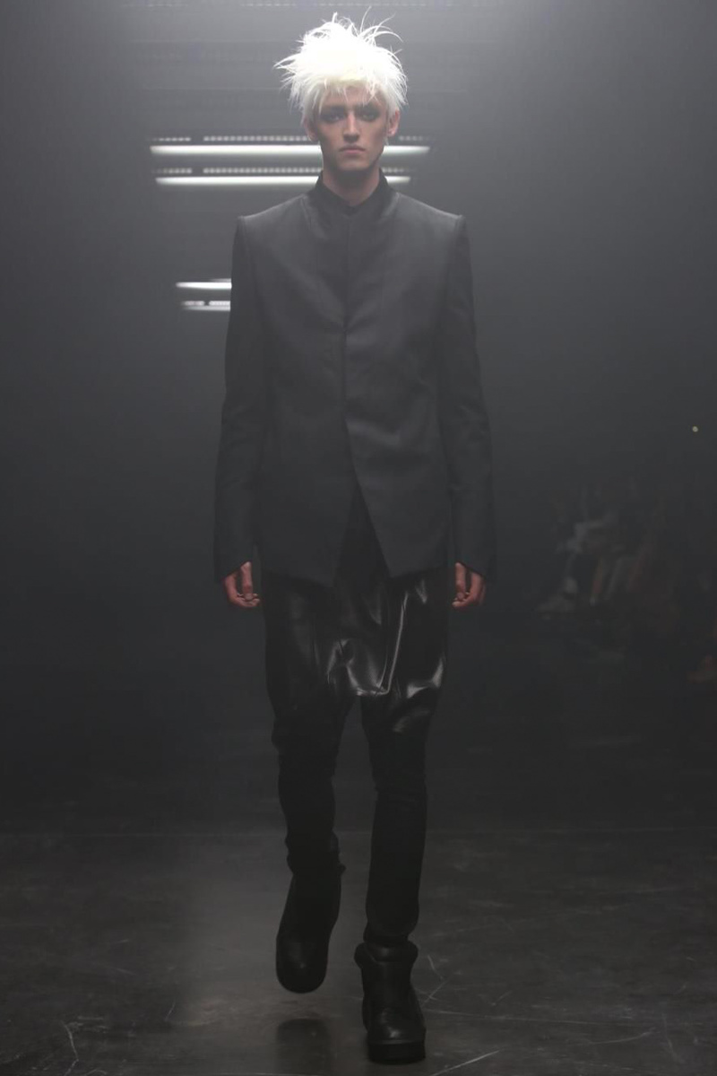 Julius, Menswear, Spring Summer, 2015, Fashion Show in Paris, Julius ss15, luxury menswear, dark style, dark fashion,