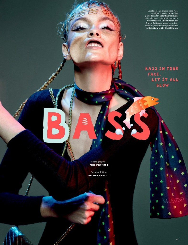 Bass by Phil Poynter for Love Magazine 1