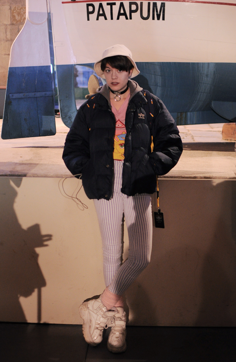 Street style 11 080 Barcelona Fashion